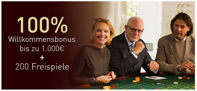 Neukundenbonus im Casino Club