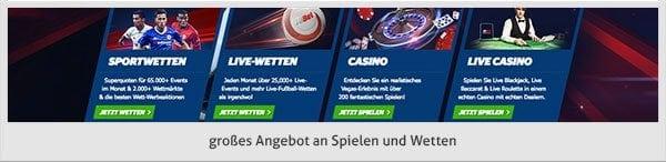 10 bet Spiele Angebot
