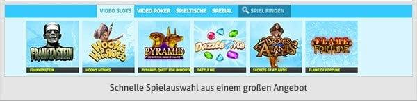 Casino Jefe Angebot