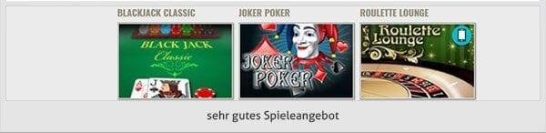 Viking Slots Casino Spiele Angebot
