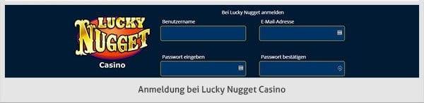 Lucky Nugget Casino Spiele Angebot
