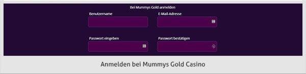 Mummys Gold Casino Zahlungsmethoden