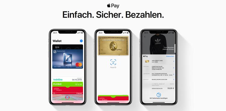 Apple Pay jetzt auch in Deutschland – so wird Bezahlen kinderleicht