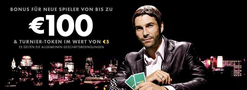 Der Neukundenbonus bei bet365 Poker