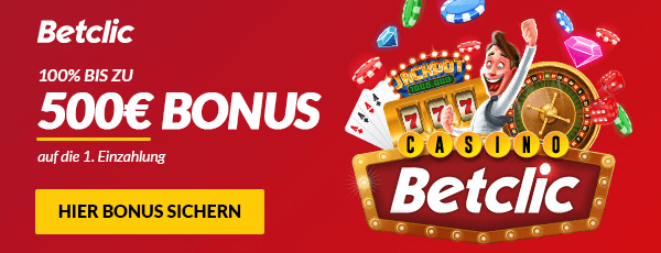 Betclic Casino Bonus