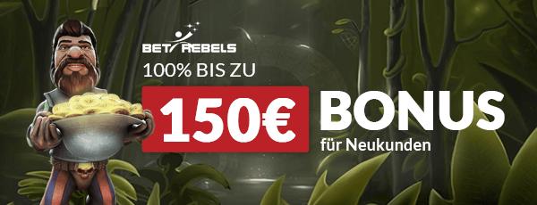 BetRebels Casino Bonus