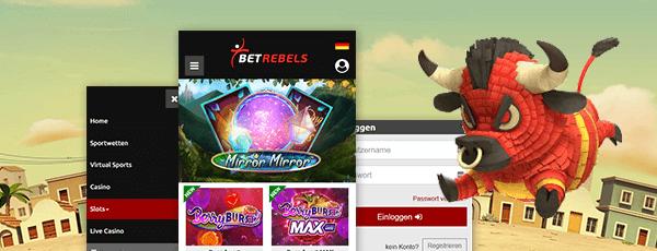 betrebels mobile casino