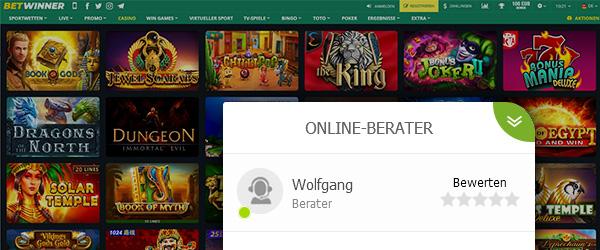 BetWinner Casino Service