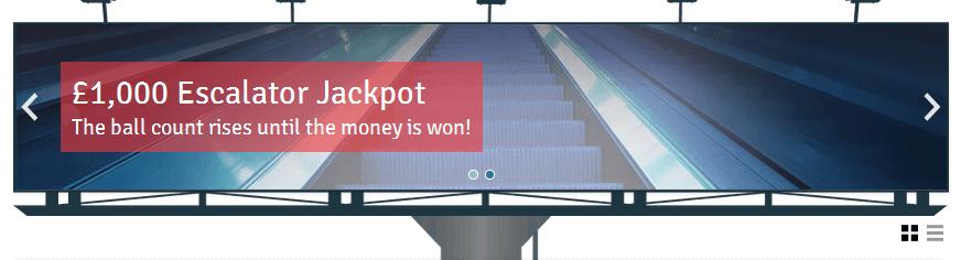 Der Webauftritt von Bingo.com