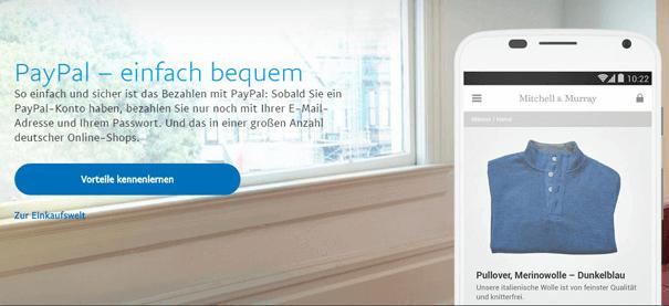 bwin Dauer für PayPal Einzahlung sehr gering
