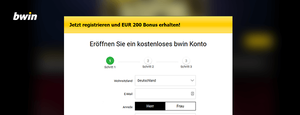 bwin Casino Registrieren