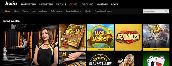 bwin Casino Spiele
