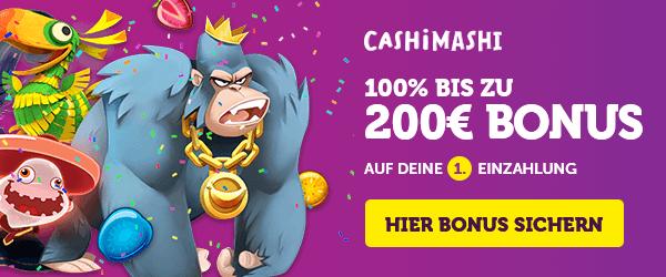 Cashi Mashi Casino Bonus