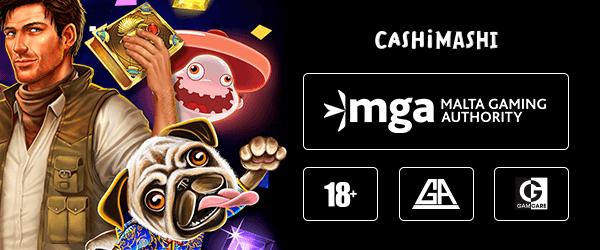Cashi Mashi Casino Lizenz