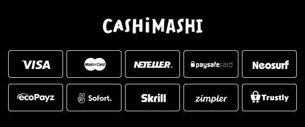 Cashi Mashi Casino Zahlungen