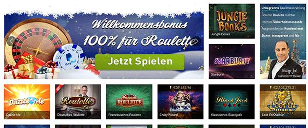 Casino Club Spiele Angebot