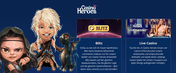 casino heroes promotion