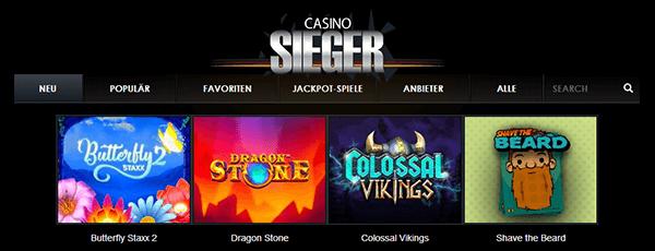 casino sieger spiele