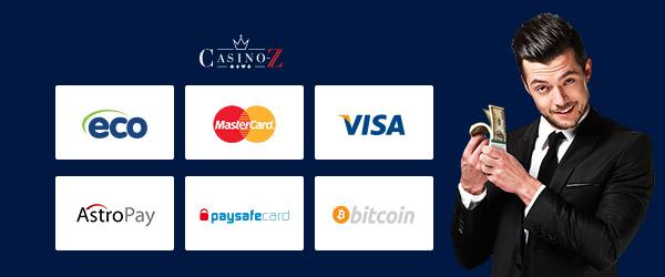 Casino Z Zahlungsmethoden