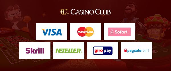 casinoclub zahlungsmethoden
