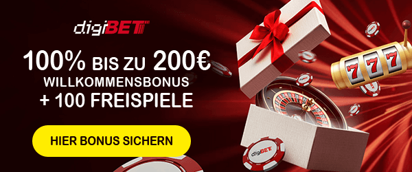 Digibet Casino Bonus