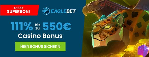 Eaglebet Casino Bonus