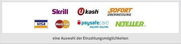 SwissCasino Zahlungsmethoden