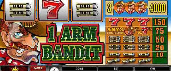 Einarmiger Bandit Online