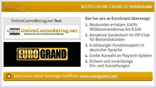 bet and win casino erfahrungen