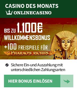 Onlinecasino.de  - Casino des Monats