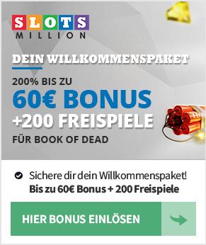 SlotsMillion Casino  - Casino des Monats