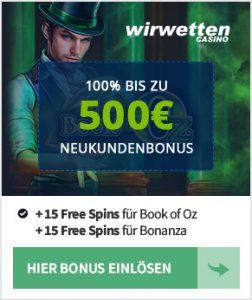 WirWetten Bonus