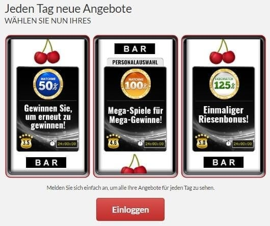 bonuscode online casino eu