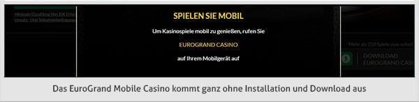 Eurogrand mobil spielen