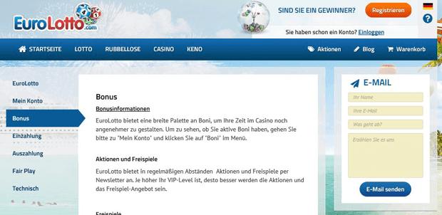 FAQs von EuroLotto kompetent und auf Deutsch