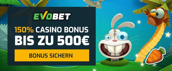 Evobet Casino Bonus
