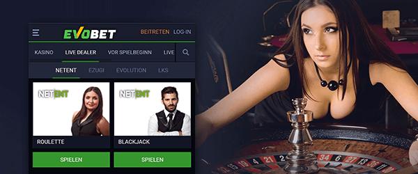 Evobet Casino Live Casino