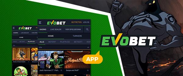 Evobet Casino Mobil