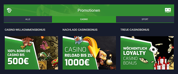 Evobet Casino Promotion