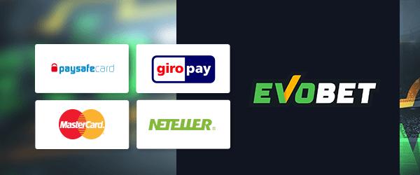 Evobet Casino Zahlungsmethoden