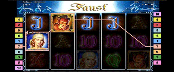 Faust Slot Lines