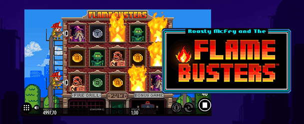 Flame Busters slot spiel