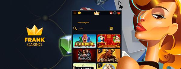 Frank Casino mobile Casino