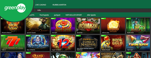greenplay casino spiele