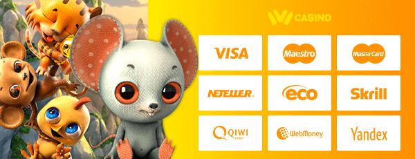 Ivi Casino Zahlungsmethoden
