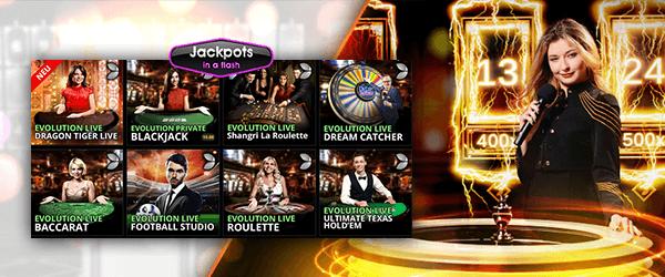 jackpotsinaflash live casino