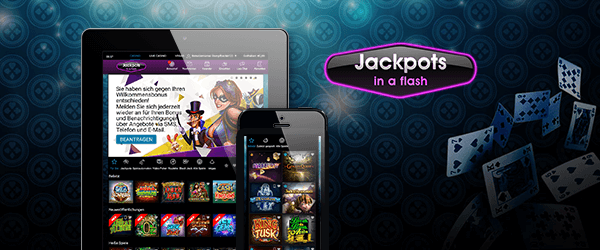 jackpotsinaflash mobil