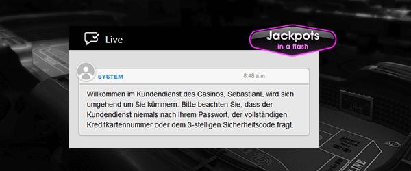 jackpotsinaflash service