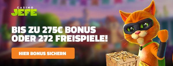 Casino Jefe Bonus