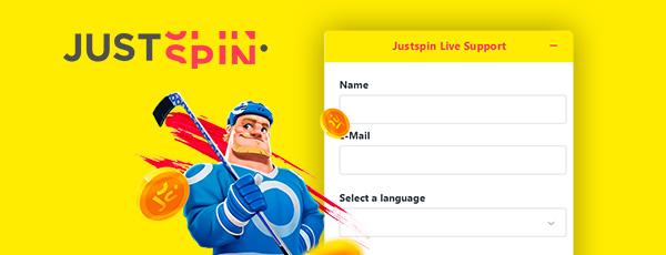 Justspin Casino Service